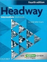 New Headway Fourth Edition Intermediate Workbook Without Key with iChecker CD-ROM